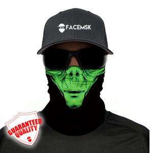 Alien Face Mask – Face Shield