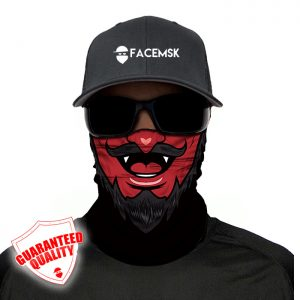 Devil Face Mask – Face Shield