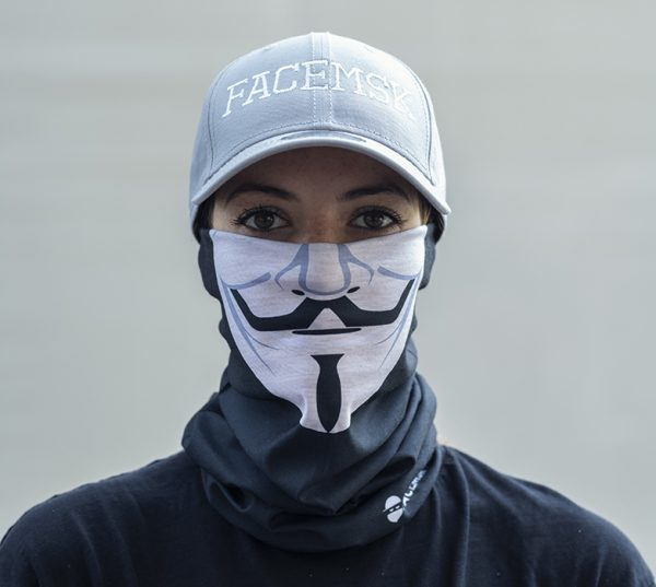 Anonymous Face Mask – Face Shield - Bandana