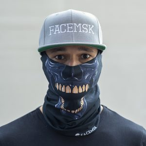 Biting Skull Face Mask – Face Shield
