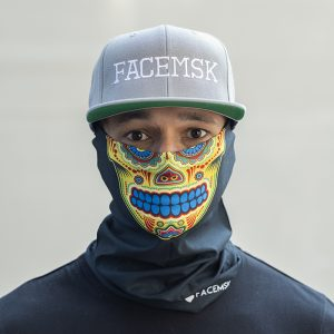 Yellow Carnival Face Mask – Face Shield