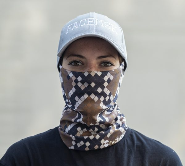 Snake Skin Face Mask – Face Shield - Bandana