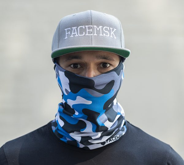 Aero Military Camo Face Mask - Bandana
