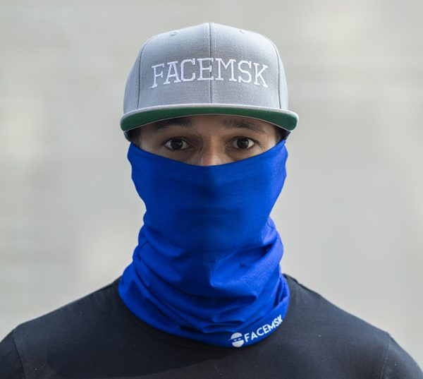 Tactical Blue Face Mask – Face Shield