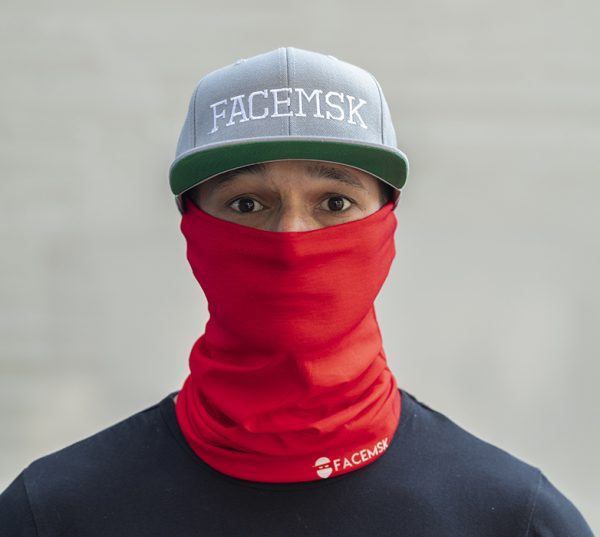 Tactical Red Face Mask – Face Shield - Bandana