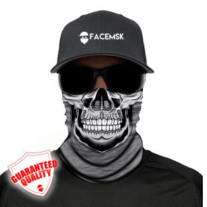 Grey Master Skull Face Mask – Face Shield