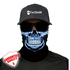 Blue Master Skull Face Mask – Face Shield