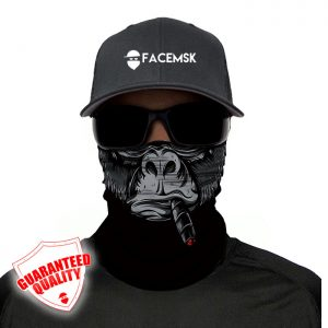 Smoking Bokito Face Mask - Face Shield