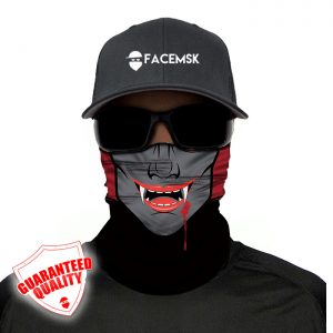Vampire Face Mask – Face Shield