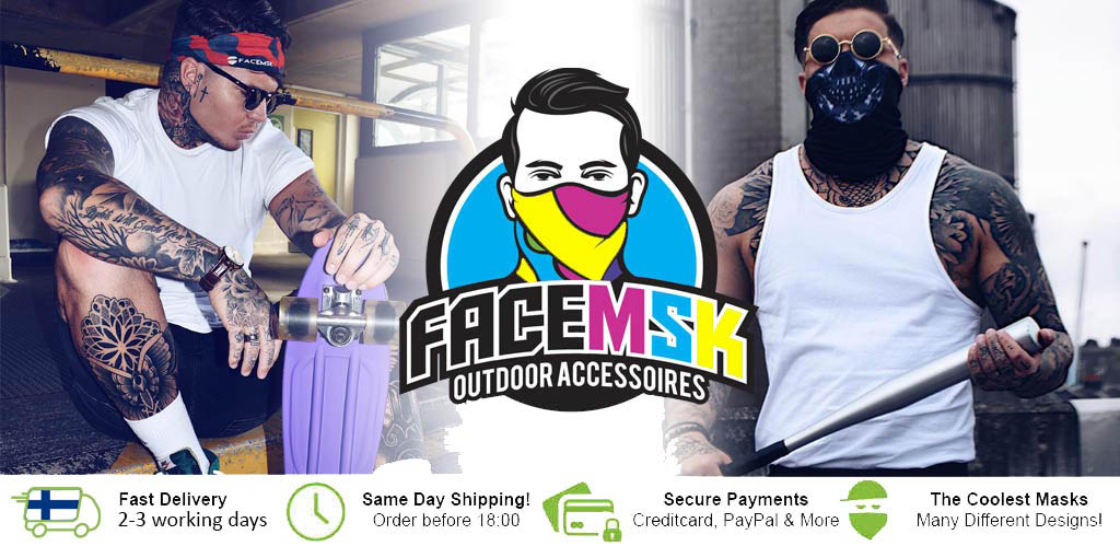 FaceMSK Face Shield Header